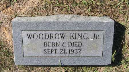 KING, JR., WOODROW WILSON - Lawrence County, Arkansas | WOODROW WILSON KING, JR. - Arkansas Gravestone Photos