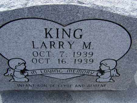 KING, LARRY MONROE - Lawrence County, Arkansas | LARRY MONROE KING - Arkansas Gravestone Photos