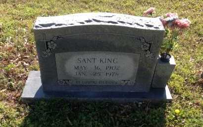 KING, SANTHFORD H. - Lawrence County, Arkansas | SANTHFORD H. KING - Arkansas Gravestone Photos