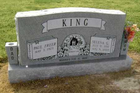 KING, SELENA GRACE - Lawrence County, Arkansas | SELENA GRACE KING - Arkansas Gravestone Photos