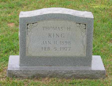 KING, THOMAS HOMER - Lawrence County, Arkansas | THOMAS HOMER KING - Arkansas Gravestone Photos