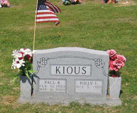 KIOUS, PAUL RUSSELL - Lawrence County, Arkansas | PAUL RUSSELL KIOUS - Arkansas Gravestone Photos