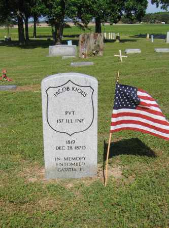 KIOUS (VETERAN UNION), JACOB - Lawrence County, Arkansas | JACOB KIOUS (VETERAN UNION) - Arkansas Gravestone Photos