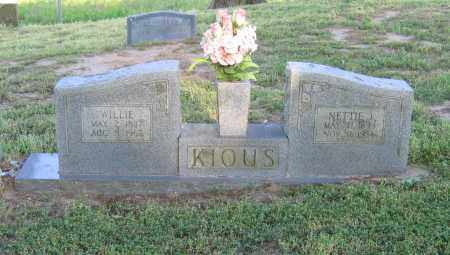 KIOUS, NETTIE JANE - Lawrence County, Arkansas | NETTIE JANE KIOUS - Arkansas Gravestone Photos