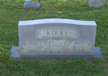 KIRBY, JAMES A. - Lawrence County, Arkansas | JAMES A. KIRBY - Arkansas Gravestone Photos