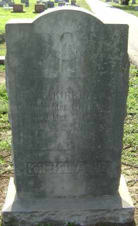 KIRKLAND, Z. T. - Lawrence County, Arkansas | Z. T. KIRKLAND - Arkansas Gravestone Photos