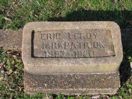 KIRKPATRICK, ERIC LEROY - Lawrence County, Arkansas | ERIC LEROY KIRKPATRICK - Arkansas Gravestone Photos