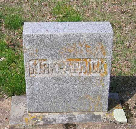 KIRKPATRICK FAMILY STONE,  - Lawrence County, Arkansas |  KIRKPATRICK FAMILY STONE - Arkansas Gravestone Photos