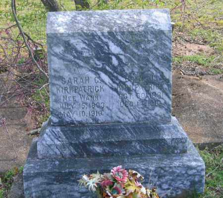 KIRKPATRICK, SARAH C. - Lawrence County, Arkansas | SARAH C. KIRKPATRICK - Arkansas Gravestone Photos