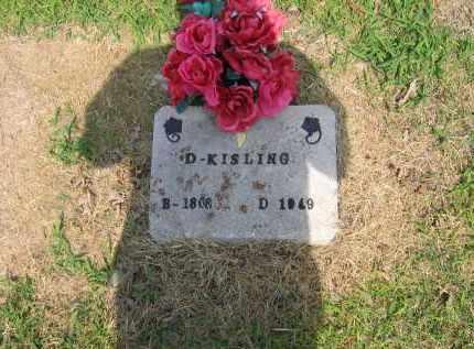 KISLING, DEMPSEY - Lawrence County, Arkansas | DEMPSEY KISLING - Arkansas Gravestone Photos