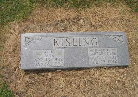 KISLING, JACK - Lawrence County, Arkansas | JACK KISLING - Arkansas Gravestone Photos