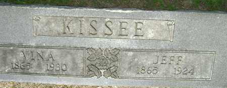 KISSEE, JEFF J. - Lawrence County, Arkansas | JEFF J. KISSEE - Arkansas Gravestone Photos