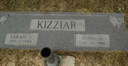 KIZZIAR, SARAH I. - Lawrence County, Arkansas | SARAH I. KIZZIAR - Arkansas Gravestone Photos