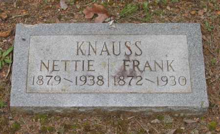 "KNAUSS, LAURA ANNETTE AGNES ""NETTIE"" - Lawrence County, Arkansas 