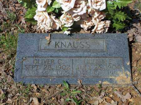 HUDSON KNAUSS, LILLIAN EDITH - Lawrence County, Arkansas | LILLIAN EDITH HUDSON KNAUSS - Arkansas Gravestone Photos