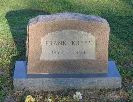 KREBS, FRANK - Lawrence County, Arkansas | FRANK KREBS - Arkansas Gravestone Photos