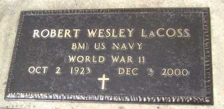 LACOSS  (VETERAN WWII), ROBERT WESLEY - Lawrence County, Arkansas | ROBERT WESLEY LACOSS  (VETERAN WWII) - Arkansas Gravestone Photos