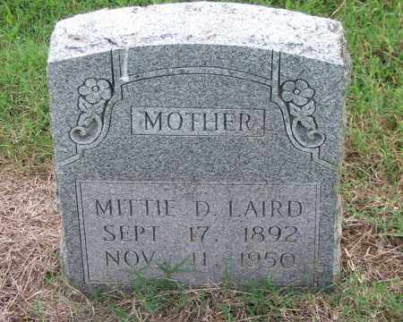 SMITH LAIRD, MITTIE D. - Lawrence County, Arkansas | MITTIE D. SMITH LAIRD - Arkansas Gravestone Photos