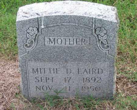 LAIRD, MITTIE D. - Lawrence County, Arkansas | MITTIE D. LAIRD - Arkansas Gravestone Photos