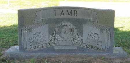 LAMB, INIS E. - Lawrence County, Arkansas | INIS E. LAMB - Arkansas Gravestone Photos