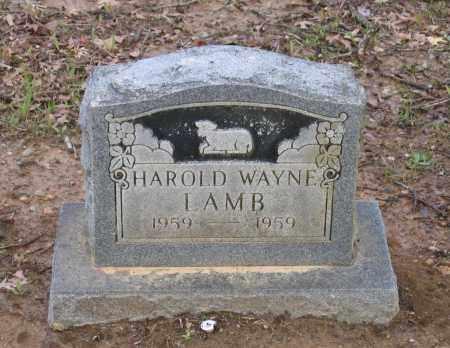 LAMB, HAROLD WAYNE - Lawrence County, Arkansas | HAROLD WAYNE LAMB - Arkansas Gravestone Photos
