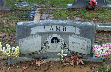 LAMB, LONNIE FAY - Lawrence County, Arkansas | LONNIE FAY LAMB - Arkansas Gravestone Photos