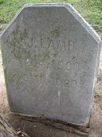 "LAMB, SAMUEL J. ""S. J."" - Lawrence County, Arkansas | SAMUEL J. ""S. J."" LAMB - Arkansas Gravestone Photos"