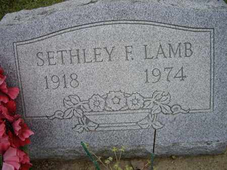 LAMB, SETHLEY F. - Lawrence County, Arkansas | SETHLEY F. LAMB - Arkansas Gravestone Photos