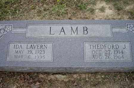 LAMB, THEDFORD J. - Lawrence County, Arkansas | THEDFORD J. LAMB - Arkansas Gravestone Photos