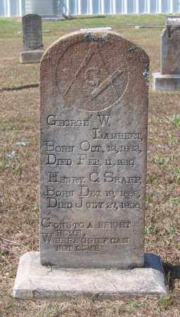 SHARP, HENRY C. - Lawrence County, Arkansas | HENRY C. SHARP - Arkansas Gravestone Photos