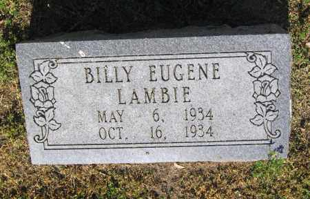 LAMBIE, BILLY EUGENE - Lawrence County, Arkansas | BILLY EUGENE LAMBIE - Arkansas Gravestone Photos