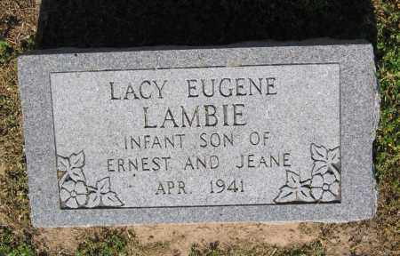 LAMBIE, LACY EUGENE - Lawrence County, Arkansas | LACY EUGENE LAMBIE - Arkansas Gravestone Photos