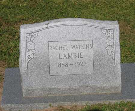 WATKINS LAMBIE, RACHEL - Lawrence County, Arkansas | RACHEL WATKINS LAMBIE - Arkansas Gravestone Photos