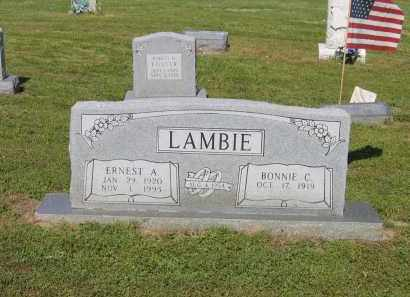 LAMBIE, BONNIE CHRISTINE - Lawrence County, Arkansas | BONNIE CHRISTINE LAMBIE - Arkansas Gravestone Photos