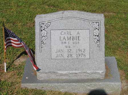 LAMBIE, CARL A. - Lawrence County, Arkansas | CARL A. LAMBIE - Arkansas Gravestone Photos