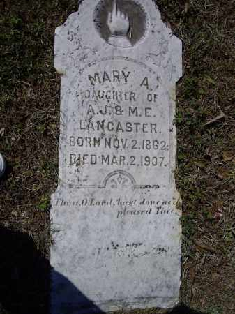 LANCASTER, MARY A. - Lawrence County, Arkansas | MARY A. LANCASTER - Arkansas Gravestone Photos