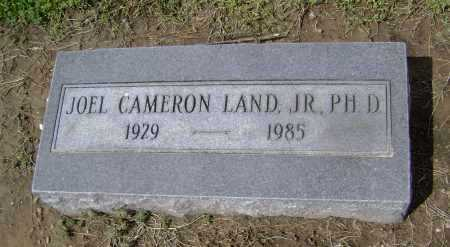 LAND JR, PHD, JOEL CAMERON - Lawrence County, Arkansas | JOEL CAMERON LAND JR, PHD - Arkansas Gravestone Photos