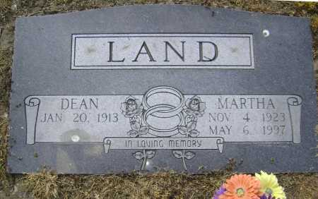 LAND, MARTHA - Lawrence County, Arkansas | MARTHA LAND - Arkansas Gravestone Photos