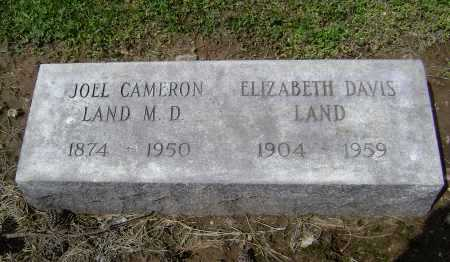 LAND, MD, JOEL CAMERON - Lawrence County, Arkansas | JOEL CAMERON LAND, MD - Arkansas Gravestone Photos