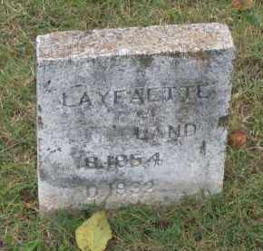 LAND, WILLIAM LAFAYETTE - Lawrence County, Arkansas | WILLIAM LAFAYETTE LAND - Arkansas Gravestone Photos