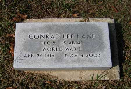 LANE (VETERAN WWII), CONRAD LEE - Lawrence County, Arkansas | CONRAD LEE LANE (VETERAN WWII) - Arkansas Gravestone Photos