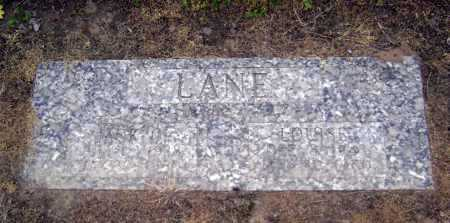 LANE, LOUISE - Lawrence County, Arkansas | LOUISE LANE - Arkansas Gravestone Photos