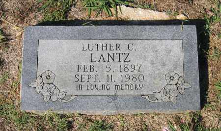 LANTZ, LUTHER COLUMBUS - Lawrence County, Arkansas | LUTHER COLUMBUS LANTZ - Arkansas Gravestone Photos