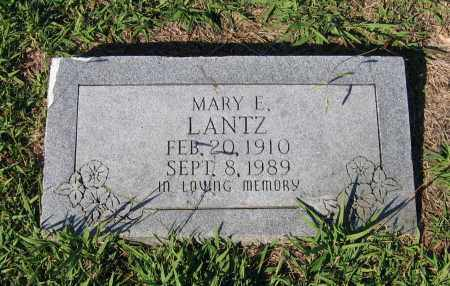 WRATHER LANTZ, MARY ELLA - Lawrence County, Arkansas | MARY ELLA WRATHER LANTZ - Arkansas Gravestone Photos