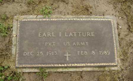 LATTURE  (VETERAN), EARL IVAN - Lawrence County, Arkansas | EARL IVAN LATTURE  (VETERAN) - Arkansas Gravestone Photos