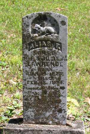 LAWRENCE, ALIAS F. - Lawrence County, Arkansas | ALIAS F. LAWRENCE - Arkansas Gravestone Photos