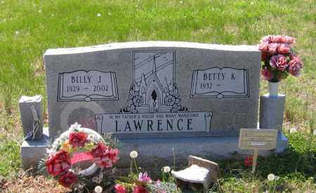 LAWRENCE, BILLY JOE - Lawrence County, Arkansas | BILLY JOE LAWRENCE - Arkansas Gravestone Photos