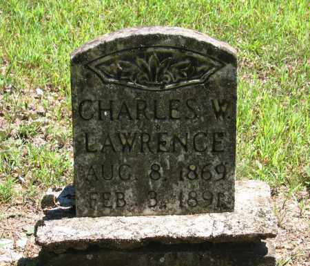 LAWRENCE, CHARLES W. - Lawrence County, Arkansas | CHARLES W. LAWRENCE - Arkansas Gravestone Photos