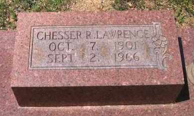 LAWRENCE, CHESSER R. - Lawrence County, Arkansas | CHESSER R. LAWRENCE - Arkansas Gravestone Photos