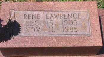 LAWRENCE, IRENE GRIFFITH - Lawrence County, Arkansas | IRENE GRIFFITH LAWRENCE - Arkansas Gravestone Photos
